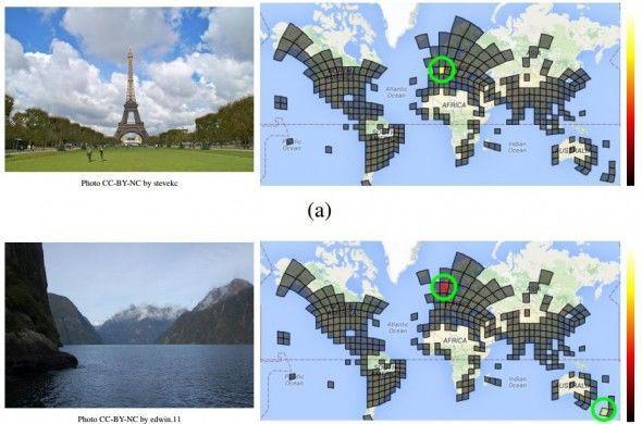 谷歌图像识别地理位置技术